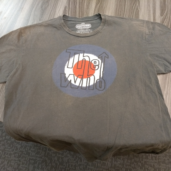 THE WHO T-SHIRT - Classic Rock Music Rock Band Tee